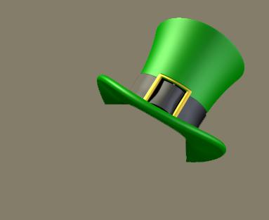 St patrick hat